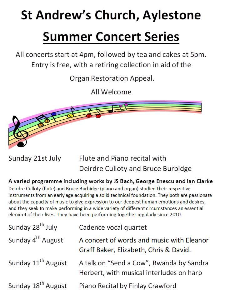 Summer concerts 19