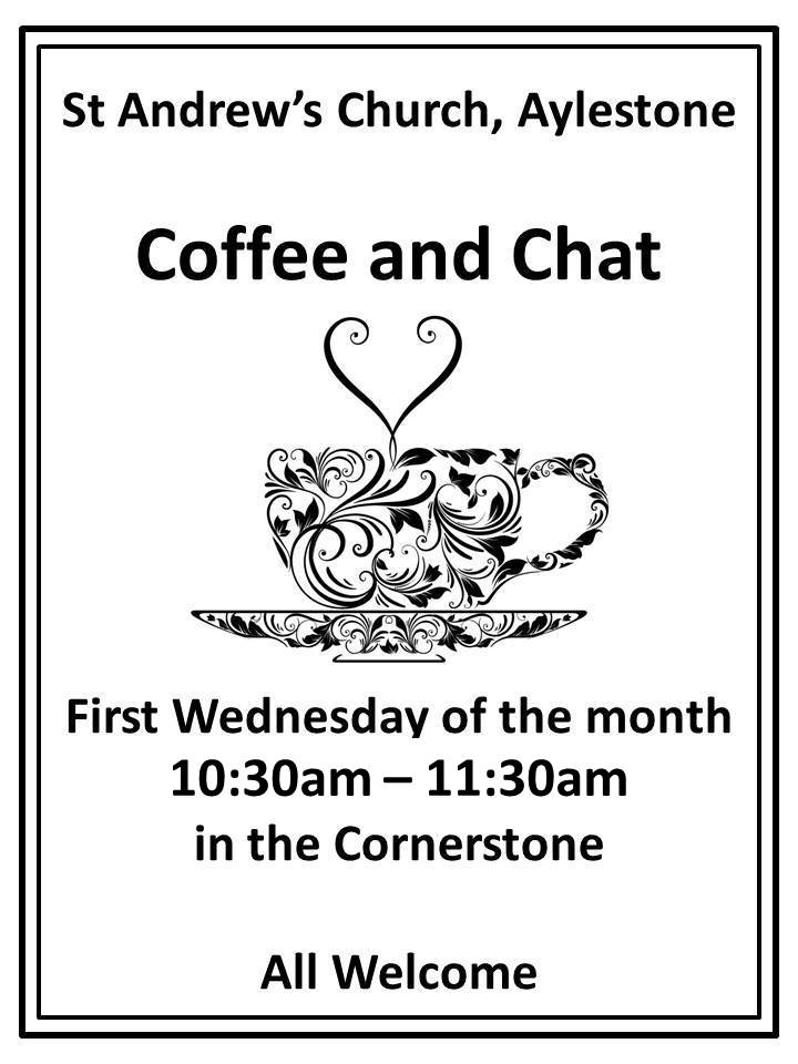 Coffee and Chat Poster
